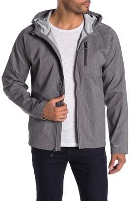 Hi-Tec Gull Stretch Water-Repellent Zip Front Hooded Jacket