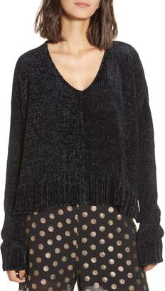 Show Me Your Mumu Black Chenille Sweater