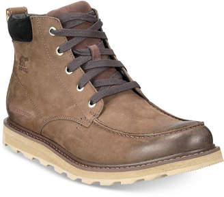 Sorel Men Madson Waterproof Moc-Toe Boots Men Shoes