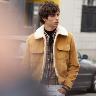 Sandro Vintage-style corduroy jacket