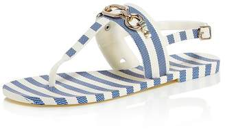 Kate Spade Women's Polly Striped Thong Sandals