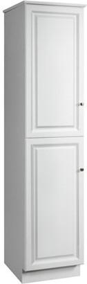 """Design House 539700 Wyndham 2-Door Linen Tower Cabinet 19"""", White"""