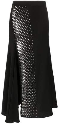 Ellery Asymmetric Studded Skirt