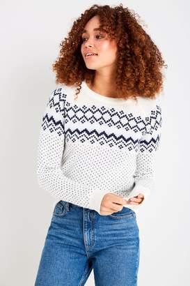 Jack Wills Hollowell Fairisle Sweater