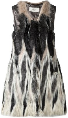 Urbancode faux fur waistcoat $335.86 thestylecure.com
