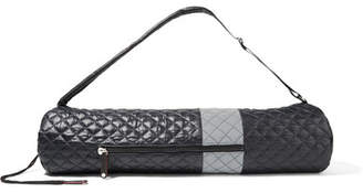 MZ Wallace Striped Quilted Shell Yoga Bag - Black