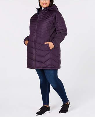 Columbia Plus Size Oyanta Trail Long Hybrid Jacket