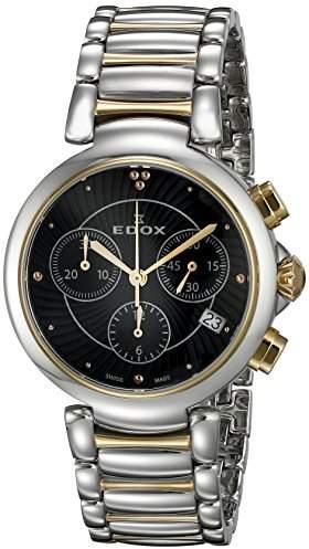 Edox Women's 10220 357RM NIR LaPassion Two-Tone Stainless Steel Watch