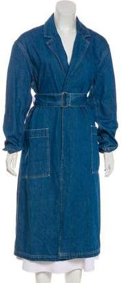 Levi's Belted Denim Coat w/ Tags