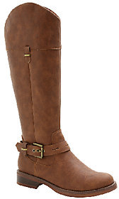 Kensie Western-Inspired Riding Boots - Stefanie $99 thestylecure.com