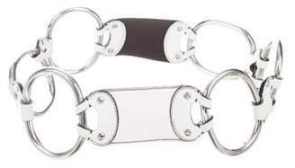 Prada Leather O-Ring Belt