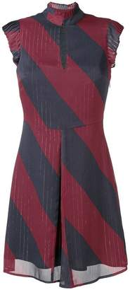 Tommy Hilfiger diagonal stripe skater dress