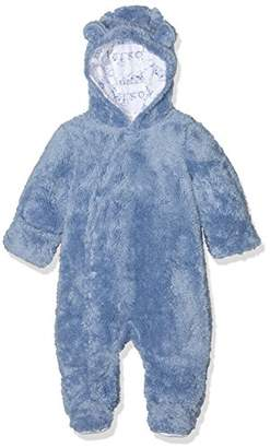 Pumpkin Patch Baby Boys 0-24m Furry All in One Footies,3-6 Months