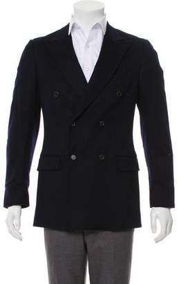 Prada Double-Breasted Cashmere Blazer