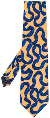 Saint Laurent Pre-Owned printed tie