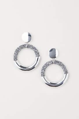 H&M Hoop Earrings - Silver
