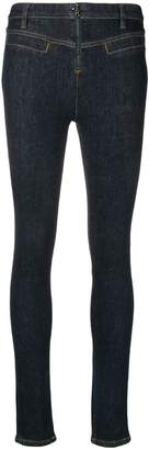 Victoria Beckham Victoria mid rise skinny jeans
