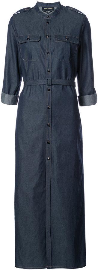 Vanessa Seward belted shirt dress