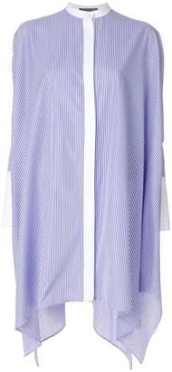 Alexander McQueen striped long shirt