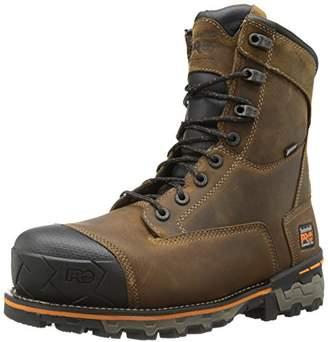 Timberland Men's 8 Inch Boondock Composite Toe Waterproof Work and Hunt Boot