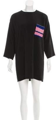 Celine Long Sleeve Shift Dress
