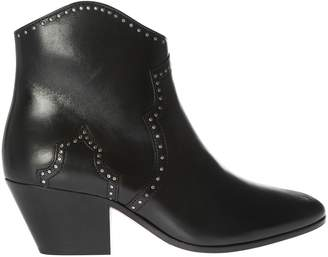 Isabel Marant Dicker Micro-studded Ankle Boots