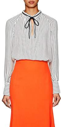 Derek Lam Women's Striped Silk Crepe Blouse