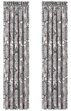"""J Queen New York Giuliana 100"""" x 84"""" Pair of Window Panels Bedding"""