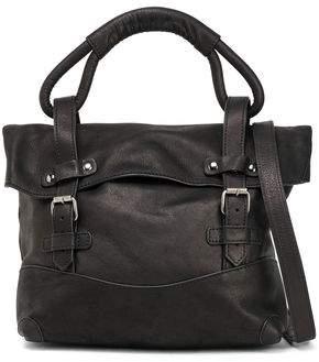 Ann Demeulemeester Buckled Leather Shoulder Bag