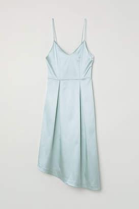 H&M Asymmetric Dress - Turquoise