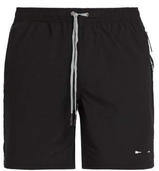 The Upside Ultra Trainer Drawstring Shorts - Mens - Black
