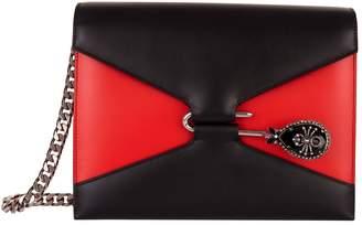 Alexander McQueen Leather Spider Pin Bag