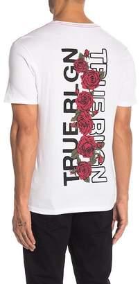 True Religion Short Sleeve Crew Neck Tee