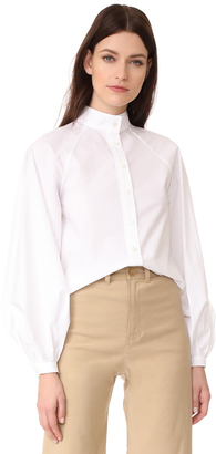 Derek Lam Button Down Shirt $795 thestylecure.com