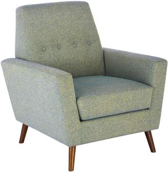 HomePop Tufted Mid Mod Accent Chair
