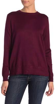 Catherine Malandrino Knit Bow Back Sweater (Petite)