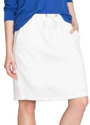 Nic+Zoe Open Road Cotton Blend Skirt