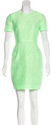Jonathan Saunders Textured Mini Dress