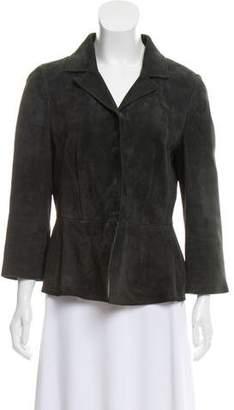 Dolce & Gabbana Suede Tailored Blazer