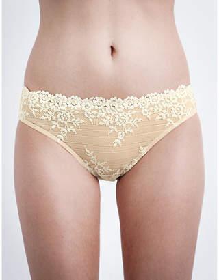 Wacoal Embrace Lace stretch-lace bikini briefs