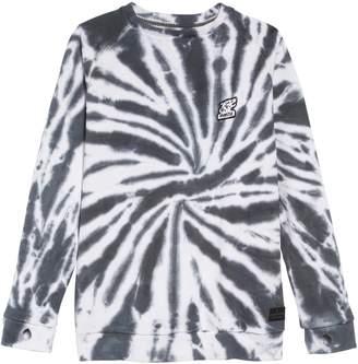 Munster Twisted Tie Dye Crewneck Sweatshirt