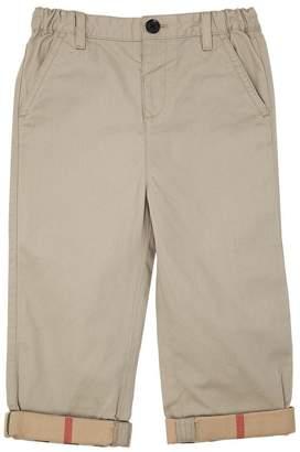 Burberry Light Cotton Gabardine Chino Pants
