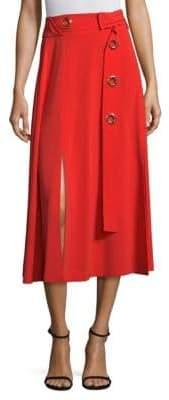 Derek Lam Belted Midi Skirt