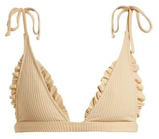 Made By Dawn - Traveler Triangle Bikini Top - Womens - Brown