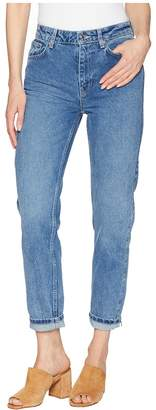 Free People Mom Jeans - Indigo Women's Jeans