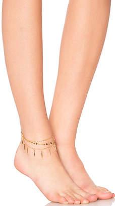 Rebecca Minkoff Metal Teardrop Anklet