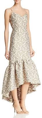Jill Stuart Jacquard Cutout Dress