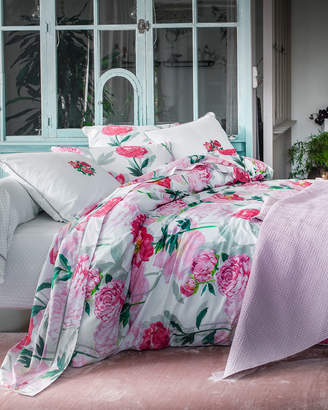 Anne De Solene Leonie 200 Thread-Count Floral King Duvet Cover