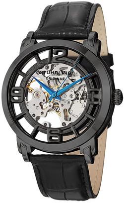 Stuhrling Men's Casatorra Croc-Embossed Watch $99.97 thestylecure.com