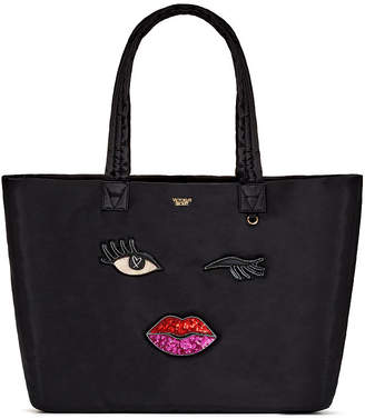 Victoria's Secret Victorias Secret Runway Patch Weekender Tote
